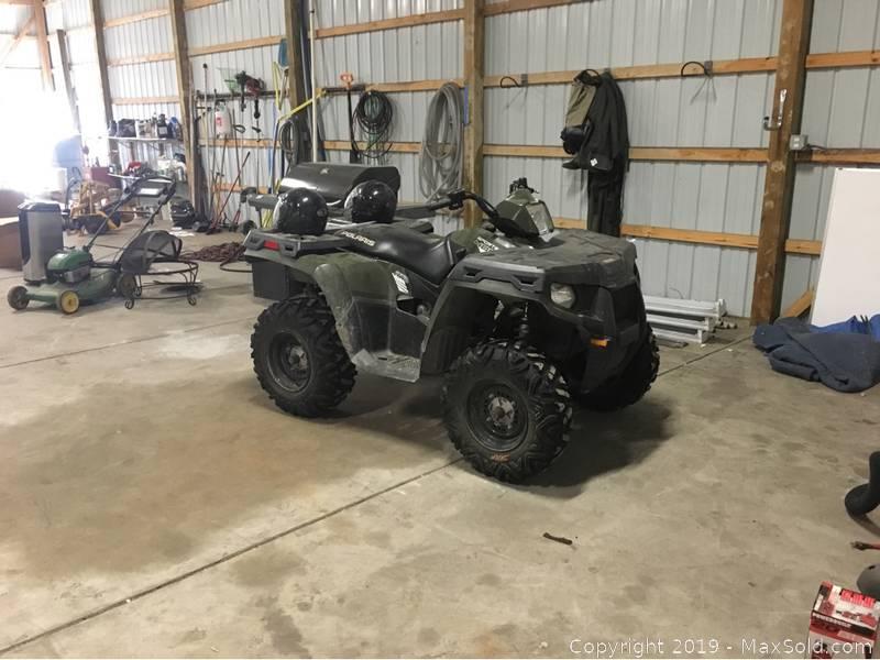 Polaris ATV C VIN 4XAMH46A6EA602265