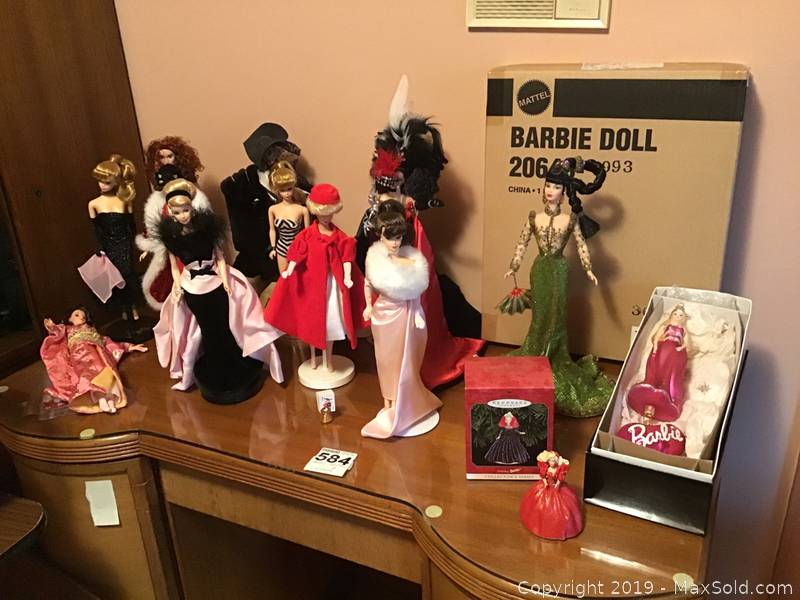 Collection Of Barbies