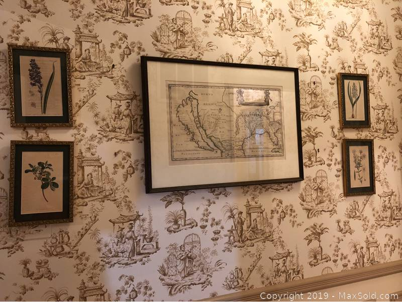 Antique Map and Art