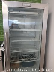 Frigidaire Commercial Glass Front Convertible Fridge and Freezer