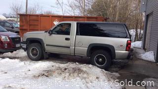 Pickup Truck 3Gcek14V07g154760