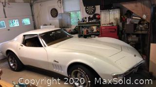 1969 Corvette Stingray VIN 194379S723488