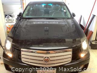 2007 Black Cadillac Very Good Condition
