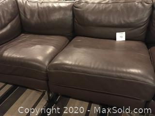 Couch - leather -