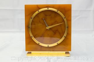 Vintage Swiss Jaeger-LeCoultre Mantle Clock
