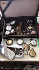 Pocket Watches, Shaver Strip Case