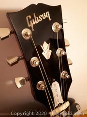 Gibson Dove acoustic guitar.